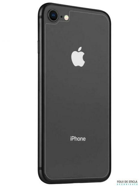 Folie din sticla securizata pentru iPhone 8 - Spate