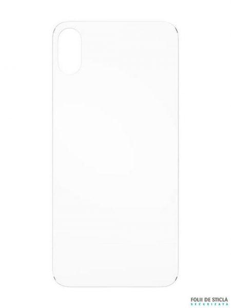 Folie din sticla securizata pentru iPhone XS Max - Spate