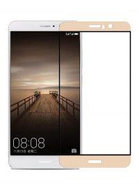 Folie Fullscreen 2.5D din sticla securizata pentru Huawei Mate 9 GOLD