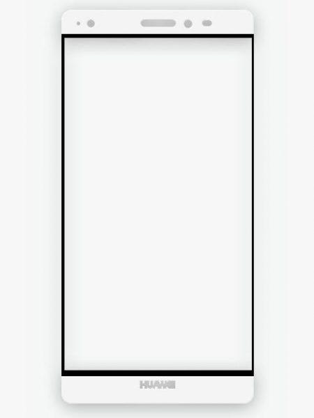 Folie Fullscreen 2.5D din sticla securizata pentru Huawei Mate S ALB