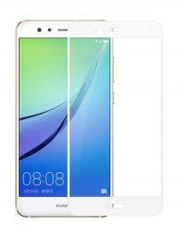 Folie Fullscreen 2.5D din sticla securizata pentru Huawei Nova 2 ALB