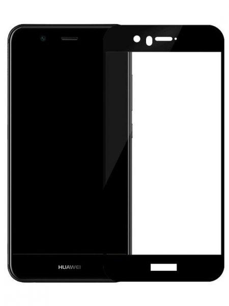 Folie Fullscreen 2.5D din sticla securizata pentru Huawei Nova 2 Plus NEGRU