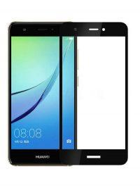 Folie Fullscreen 2.5D din sticla securizata pentru Huawei Nova NEGRU