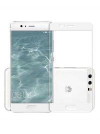Folie Fullscreen 2.5D din sticla securizata pentru Huawei P10 ALB