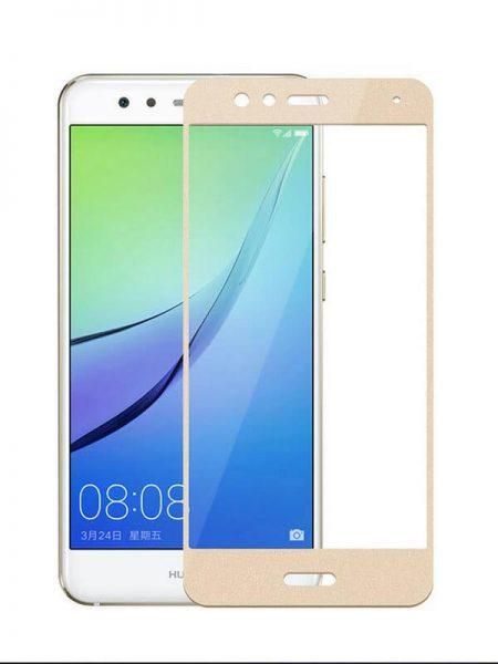 Folie Fullscreen 2.5D din sticla securizata pentru Huawei P10 Lite GOLD