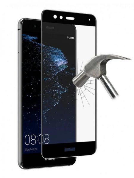 Folie Fullscreen 2.5D din sticla securizata pentru Huawei P10 Lite NEGRU