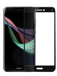 Folie Fullscreen 2.5D din sticla securizata pentru Huawei P9 Lite 2017 (P8 Lite 2017) NEGRU