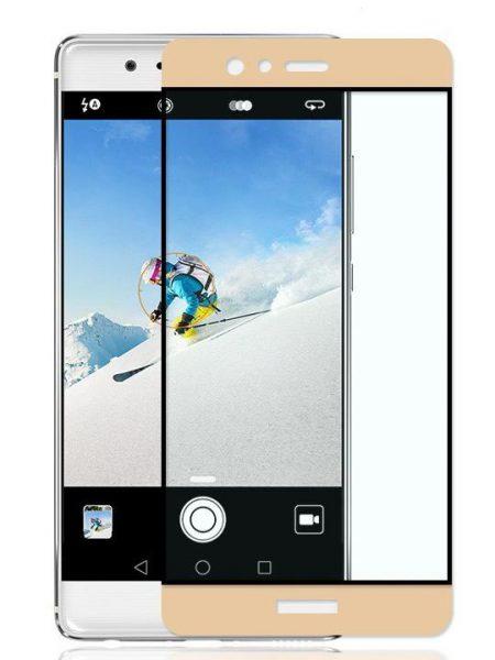 Folie Fullscreen 2.5D din sticla securizata pentru Huawei P9 Plus GOLD