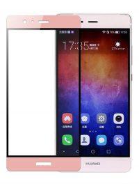 Folie Fullscreen 2.5D din sticla securizata pentru Huawei P9 Plus ROSE GOLD