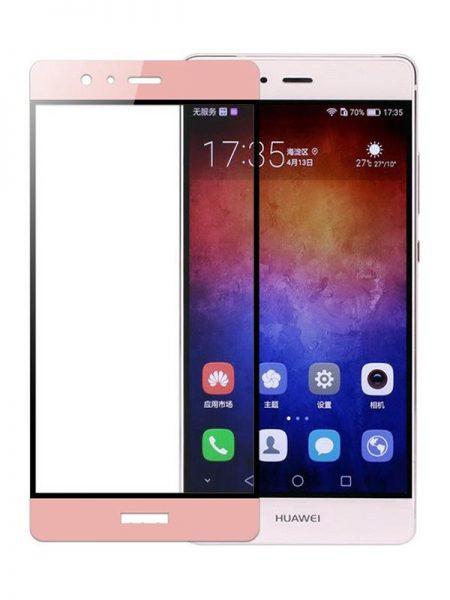 Folie Fullscreen 2.5D din sticla securizata pentru Huawei P9 ROSE GOLD