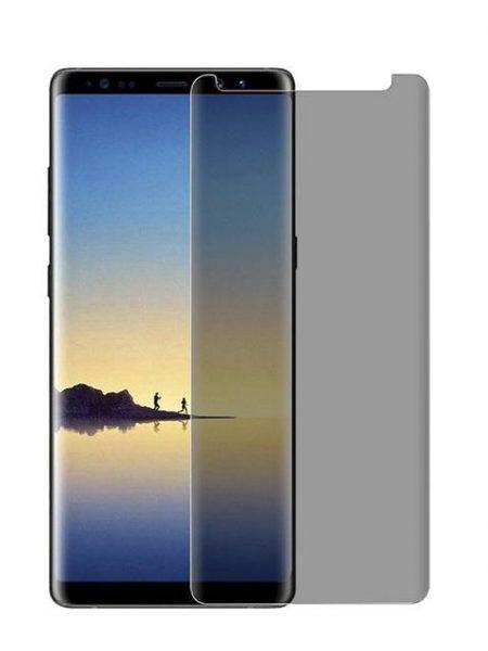 Folie PRIVACY curbată 3D din sticlă securizată pentru Samsung Galaxy Note8 (Case-compatible)