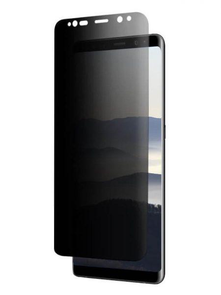 Folie PRIVACY curbată 3D din sticlă securizată pentru Samsung Galaxy Note9