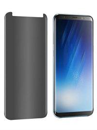 Folie PRIVACY curbată 3D din sticlă securizată pentru Samsung Galaxy S8+ (Case-compatible)