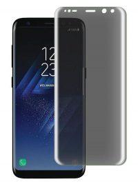 Folie PRIVACY curbată 3D din sticlă securizată pentru Samsung Galaxy S8+ (Full cover)
