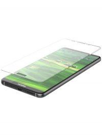 Folie curbată 3D din sticlă securizată pentru Huawei Mate 10 TRANSPARENT (full cover)
