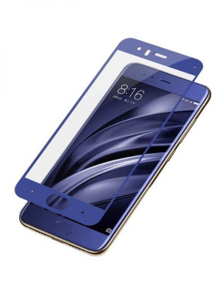 Folie Fullscreen 2.5D din sticla securizata pentru Xiaomi Mi 6 BLUE