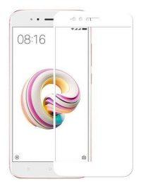 Folie Fullscreen 2.5D din sticla securizata pentru Xiaomi Mi A1 ALB