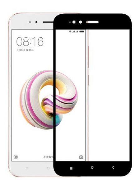 Folie Fullscreen 2.5D din sticla securizata pentru Xiaomi Mi A1 NEGRU