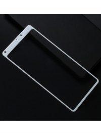 Folie Fullscreen 2.5D din sticla securizata pentru Xiaomi Mi Mix ALB