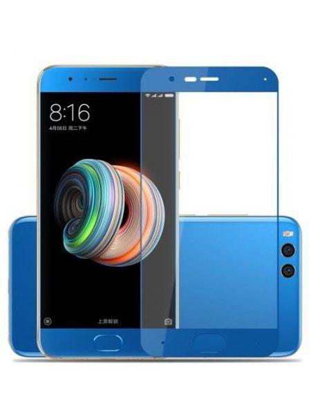 Folie Fullscreen 2.5D din sticla securizata pentru Xiaomi Mi Note 3 BLUE