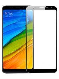 Folie Fullscreen 2.5D din sticla securizata pentru Xiaomi Redmi 5 Plus NEGRU