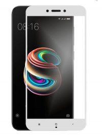 Folie Fullscreen 2.5D din sticla securizata pentru Xiaomi Redmi 5A ALB