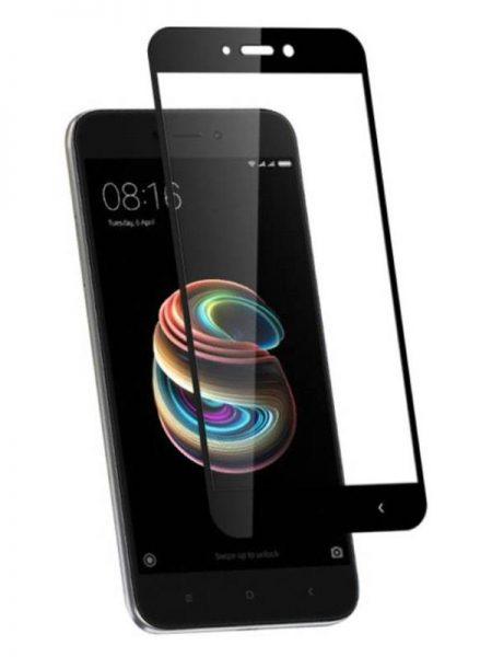 Folie Fullscreen 2.5D din sticla securizata pentru Xiaomi Redmi 5A NEGRU