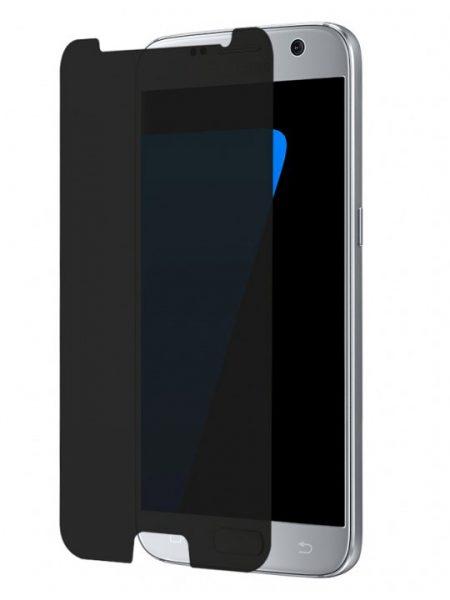 Folie din sticla securizata pentru Samsung Galaxy S7 PRIVACY