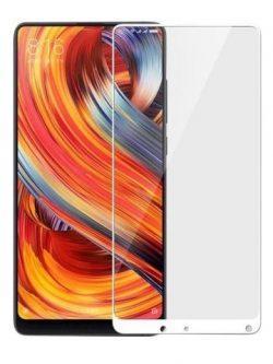 Folie curbată 5D din sticlă securizată pentru Xiaomi Mi Mix 2 ALB - Full glue