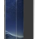 Folie PRIVACY curbată 3D din sticlă securizată pentru Samsung Galaxy S9