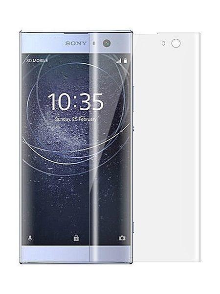 Folie curbată 3D din sticlă securizată pentru Sony Xperia XA2 TRANSPARENT (full cover)