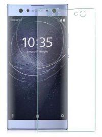Folie curbată 3D din sticlă securizată pentru Sony Xperia XA2 Ultra TRANSPARENT (full cover)