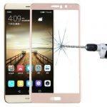 Folie ușor curbată 5D din sticlă securizată pentru Huawei Mate 9 GOLD - Full glue