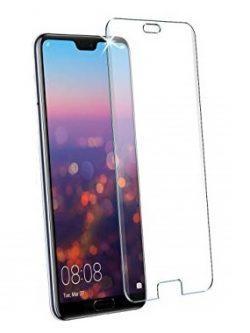 Folie curbată 3D din sticlă securizată pentru Huawei P20 TRANSPARENT