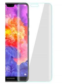 Folie curbată 3D din sticlă securizată pentru Huawei P20 Lite TRANSPARENT