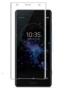 Folie curbată 3D din sticlă securizată pentru Sony Xperia XZ2 Premium TRANSPARENT (full cover)