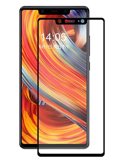 Folie curbată 5D din sticlă securizată pentru Xiaomi Mi 8 SE NEGRU - Full glue