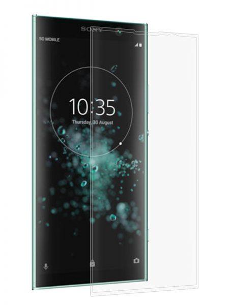 Folie curbată 3D din sticlă securizată pentru Sony Xperia XA2 Plus TRANSPARENT (full cover)