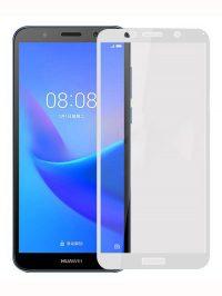 Folie Fullscreen 2.5D din sticla securizata pentru Huawei Y3 (2018) ALB