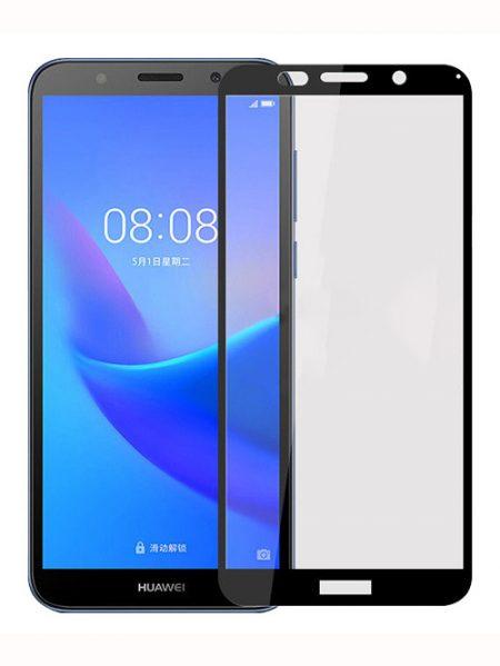 Folie Fullscreen 2.5D din sticla securizata pentru Huawei Y5 (2018) NEGRU