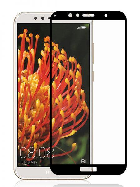 Folie Fullscreen 2.5D din sticla securizata pentru Huawei Y6 (2018) NEGRU