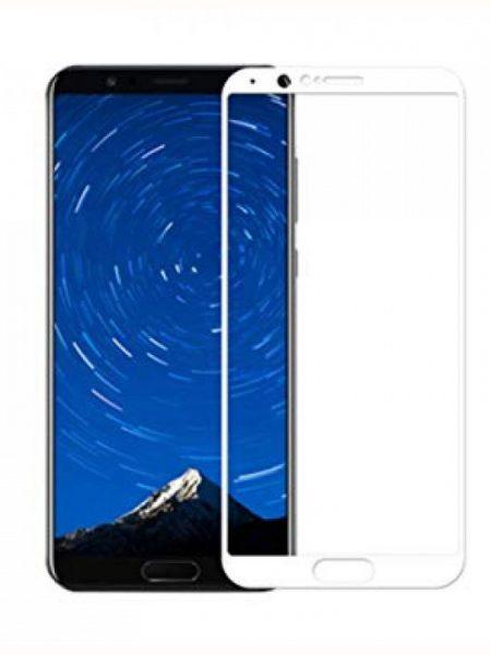 Folie Fullscreen 2.5D din sticla securizata pentru Huawei Honor View 10 ALB