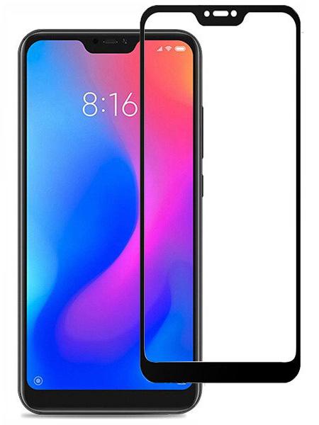 Folie Fullscreen 2.5D din sticla securizata pentru Xiaomi Mi A2 Lite (Redmi 6 Pro) NEGRU