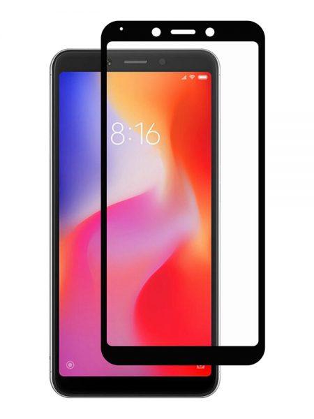 Folie Fullscreen 2.5D din sticla securizata pentru Xiaomi Redmi 6 / 6A NEGRU