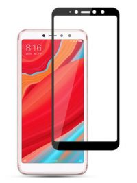 Folie Fullscreen 2.5D din sticla securizata pentru Xiaomi Redmi S2 (Y2) NEGRU
