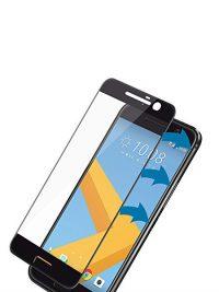 Folie Fullscreen 2.5D din sticla securizata pentru HTC 10 NEGRU