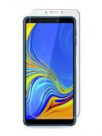 Folie curbată 3D din sticlă securizată pentru Samsung Galaxy A9 (2018) TRANSPARENT (Full cover)