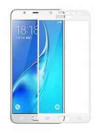 Folie Fullscreen 2.5D din sticla securizata pentru Samsung Galaxy C5 ALB
