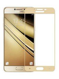 Folie Fullscreen 2.5D din sticla securizata pentru Samsung Galaxy C5 GOLD