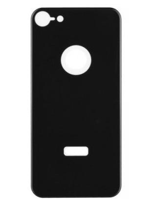 Folie 5D din sticlă securizată pentru iPhone 8 - SPATE - NEGRU